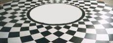 Kew College Spiral floor