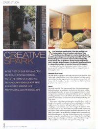 Creative Spark Article - The House Whisperer