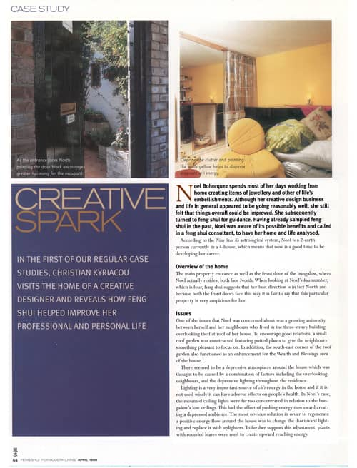 Creative Spark Article - The House Whisperer
